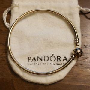 Pandora bangle bracelet.